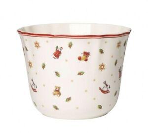 Villeroy & Boch Toy's Delight Blumentopf Übertopf Cachepot Groß Bakery Winter N2