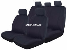 Canvas Seat Covers for Nissan Patrol GU 12/1997 - 09/2004  BLACK 3 ROW's New