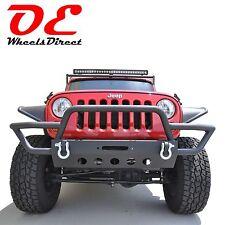 Winch Bumper Front Tubular KO Off Road Steel for 07-16 Jeep Wrangler FKO02