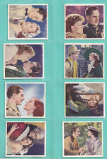 Godfrey Phillips: Famous Love Scenes (1939) Full set 36. Excellent.
