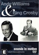 ANDY WILLIAMS & BING CROSBY Sounds In Motion DVD - Region Free