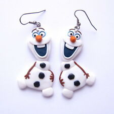 Cute Funny Handmade Girls Christmas Gifts Presents Olaf Frozen Earrings Jewelry