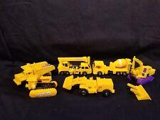 Knock off FAKE Transformers Landfill Construction Set Construction Vehicles RARE