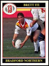 Brett ITI #14 MERLIN Rugby Football League 1991 TRADE card (c247)