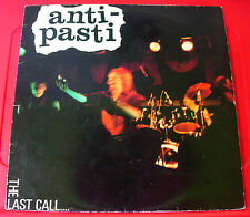 Anti-Pasti The Last Call LP UK ORIG 1981 Rondelet ABOUT 5 No Government+ VINYL