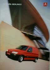 Citroen Berlingo Sales Brochure - September 2001