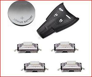 HIGH QUALITY Fits SAAB 93 95 9-3 9-5 Remote Key FOB CASE Full repair KIT