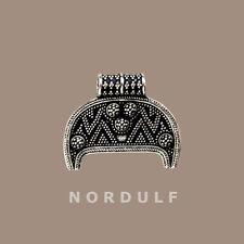 Viking Argento Pendente LUNULA-simbolo di fertilità da BIRKA Svezia-Freya Lunik