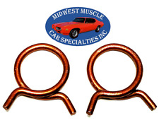 "Chrysler Jeep AMC 1"" Corbin Style Spring Wire Heater Radiator Hose Clamps 2pc TK"