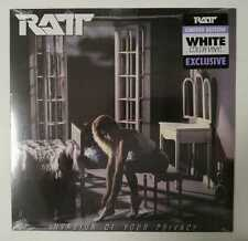 """Ratt """"Invasion Of Your Privacy"""" Exclusive Limited White Vinyl Sealed!"""
