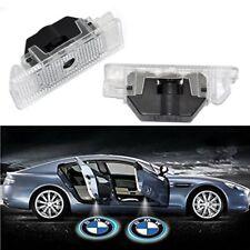 2 Plafoniere luci porta LED BMW serie 5 E53 X5 E39 Z8 E52 proiettore LOGO coppia