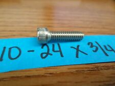 10-24 X 3/4 SOCKET HEAD CAP SCREWS