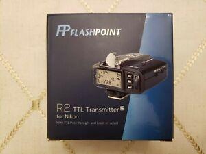 FLASHPOINT R2 TTL Transmitter For Nikon - New
