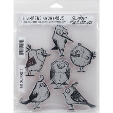 Tim Holtz Cling Stamps - Bird Crazy