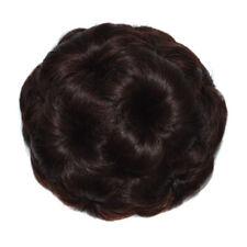 Women's Ponytail Hair Clips Extension Comb Wig Bun Scrunchies Hair Accessories