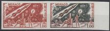 Monaco 1964 ** Mi.772 Color Proof ESSAY Weltraum Space Espace Ägypten Egypt