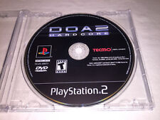 DOA2: Hardcore (Sony PlayStation 2, 2000) PS2 Game in Plain Case Excellent!