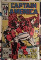 Captain America #341 1st app Lemar Hoskins Battlestar TFATWS