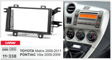 Car Stereo Radio Fascia Panel 2Din Frame Kit for TOYOTA Matrix 2008-2011 11-338