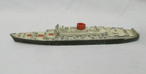Vintage Tri-ang Minic M708 RMS Saxonia Passenger Liner Ship - Made In England
