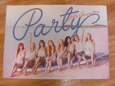 SNSD GIRLS' GENERATION  - PARTY (SINGLE) [ORIGINAL POSTER] *NEW* K-POP
