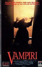 Vampiri (1988) VHS Columbia 1a Ed. Deran Sarafian  Brendan Hughes, Sydney Walsh