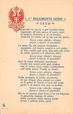 1490A) PAVIA, INNO DEL 1 REGGIMENTO GENIO ZAPPATORI 3 BRIGATA ROMA.