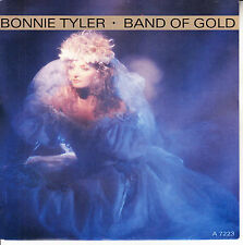 """BONNIE TYLER Band Of Gold PICTURE SLEEVE 7"""" 45 record NEW + juke box title strip"""