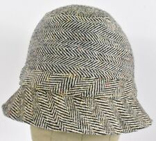 White   Black The Irish Walking Hat Fedora Dress hat cap Fitted 71d22c6381d5