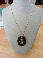 Michael Kors Gold-Tone Maritime Tortoise Necklace MSRP $145
