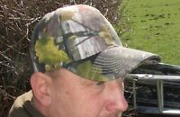 JACK PYKE ENGLISH OAK EVOLUTION CAMO RIPSTOP BASEBALL CAP PEAKED HUNTING HAT
