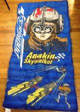 Vintage 90's Lucas Film Star Wars Anakin Skywalker Phantom Menace Sleeping Bag