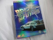 REGRESO AL FUTURO Trilogy 4 DISCOS ÚLTIMA EDICIÓN ORIGINAL DVD PAL