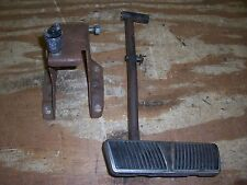 1965 Cadillac Deville Fleetwood interior brake pedal assembly arm linkage