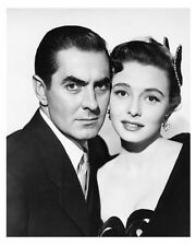 DIPLOMATIC COURIER promo still TYRONE POWER & PATRICIA NEAL - (d860)