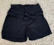 New H&M Maternity Shorts With Pockets In Black