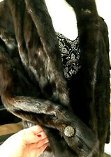 ELEGANT MINK COAT   Designer USA MEDIUM