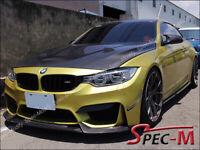 VRS Style Carbon Fiber Front Bumper Spoiler Lip For 2014+ BMW F80 M3 F82 M4
