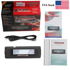 Newest TurboGauge IV Auto Computer Scan Tool Digital Gauge 4 in 1 Turbo Gauge