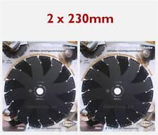 2x 230mm Cedima Universal Diamant Trennscheibe AR-Multicut für Winkelschleifer