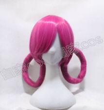 Pink Pokemon JOY! Nurse Joy style cosplay sexy cartoon retro Fancy party Wig