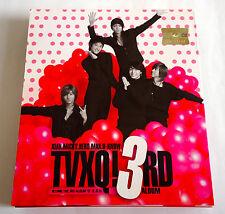 """TVXQ 東方神起 The 3rd Album """"O"""" KOREA ORIGINAL EDITION CD + DVD 2006 SMCD-136 K-POP"""