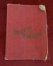 1910 VOICE OF WARNING by Parley P Pratt LDS Mormon Book