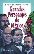 Grandes personajes de Mexico / Major Characters in Mexico: Hombres de la epoca