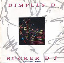 "DIMPLES D sucker dj/sucker drums FBI 11 uk fbi 1990 7"" PS EX/EX"