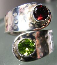 Band Handmade Natural Not Enhanced Fine Rings