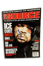 NWA Ice Cube authentic signed rap The Source Magazine W/Certificate Autographed