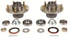 67 68 69  Camaro  Drum Brake Hubs w/Wheel Bearings Seals & Dust Caps