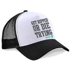 Chapeaux camionneurs noirs pour homme