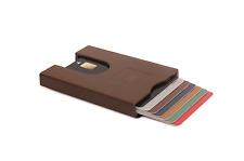 Wallet Credit Cards Walter Wallet Men Accessories Brown Easy Slide Quick Draw